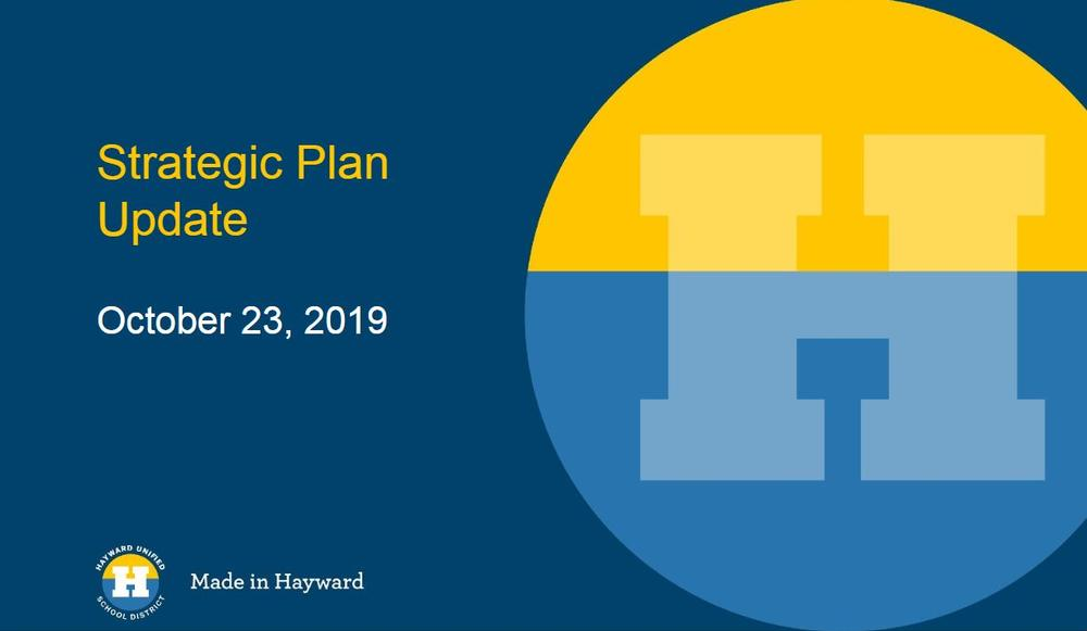 Strategic Plan Update 10.23.19