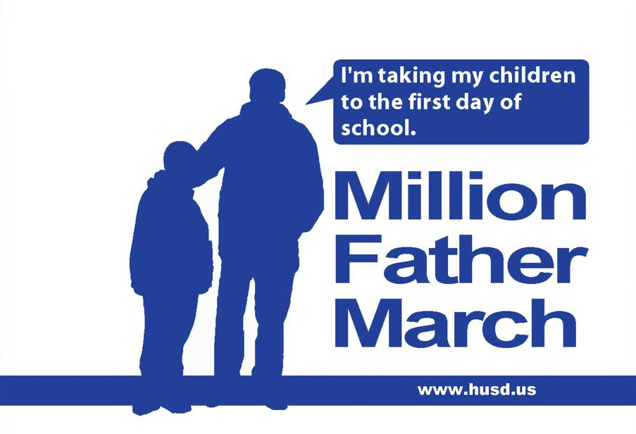 Million Father March Logo